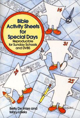 Bible Activity Sheets for Special Days