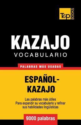 Vocabulario español-kazajo - 9000 palabras más usadas