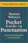 Merriam-Webster's Pocket Guide to Punctuation
