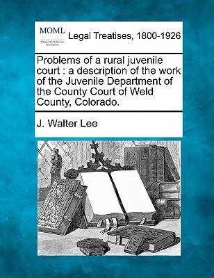 Problems of a Rural Juvenile Court