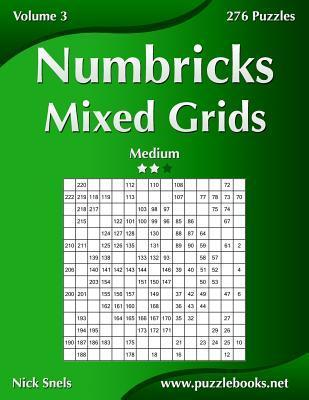 Numbricks Mixed Grids