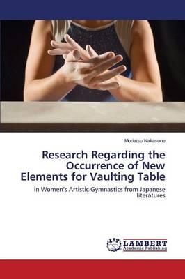 Research Regarding the Occurrence of New Elements for Vaulting Table