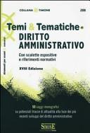 Temi & tematiche di diritto amministrativo