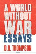 A World Without War