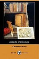 Aspects of Literature (Dodo Press)