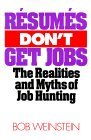 Resumes Don't Get Jobs