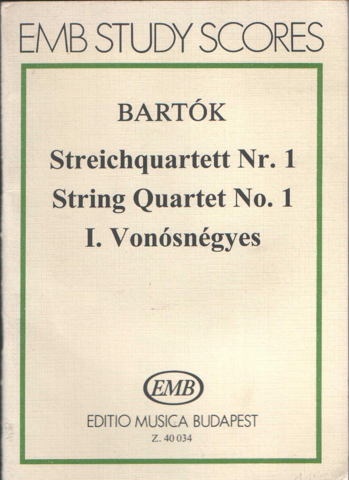 Streichquartett n.1