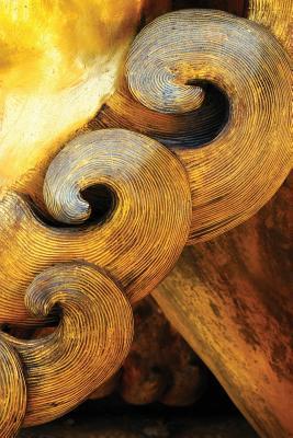 Asian Woodwork Grid Notebook