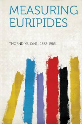 Measuring Euripides