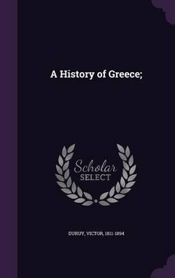 A History of Greece;
