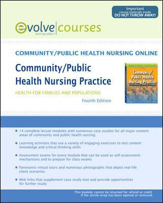 Community/Public Health Nursing Online for Maurer and Smith, Community/Public Health Nursing Practice (User Guide and Access Code), 4e