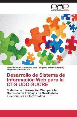 Desarrollo de Sistema de Información Web para la CTG UDO-SUCRE
