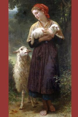 The Shepherdess by William-adolphe Bouguereau - 1873 Journal