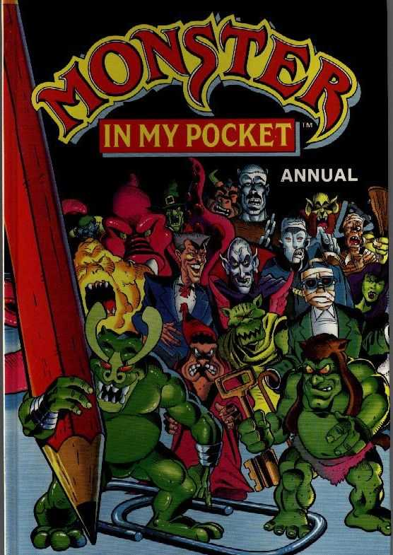 Monster in My Pocket Annual: 1992