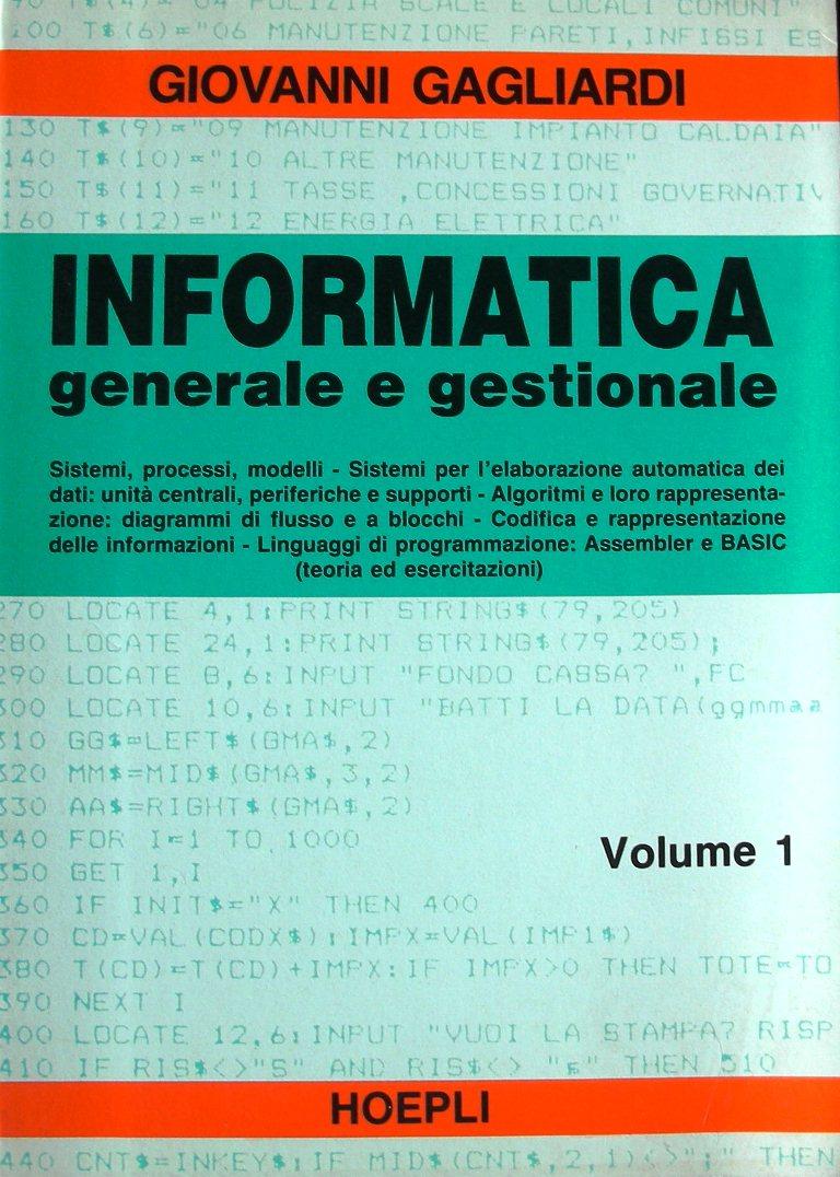 Informatica generale e gestionale