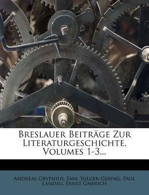 Breslauer Beiträge ...