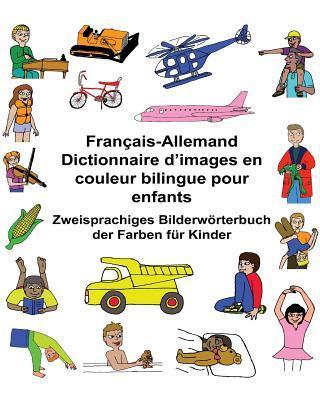 Français-allemand Dictionnaire D'images En Couleur Bilingue Pour Enfants