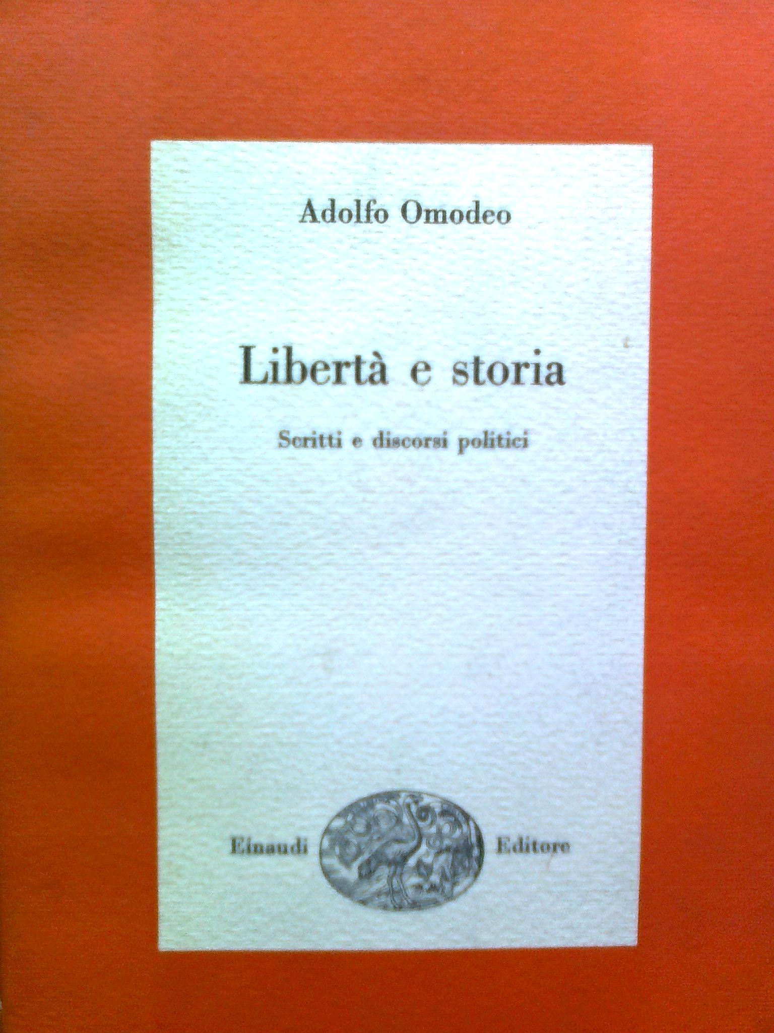 Libertà e storia