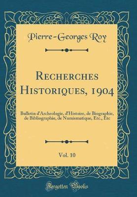 Recherches Historiqu...