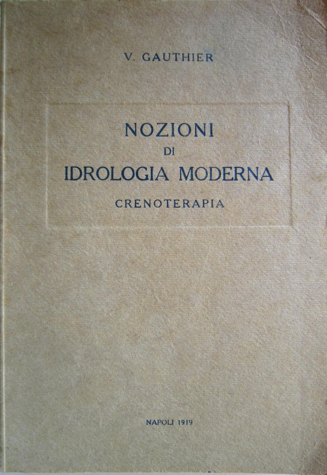 Nozioni di idrologia moderna
