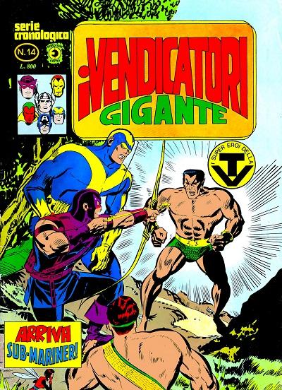 I Vendicatori Gigante n. 14