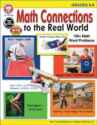 Math Connections to the Real World, Grades 5-8