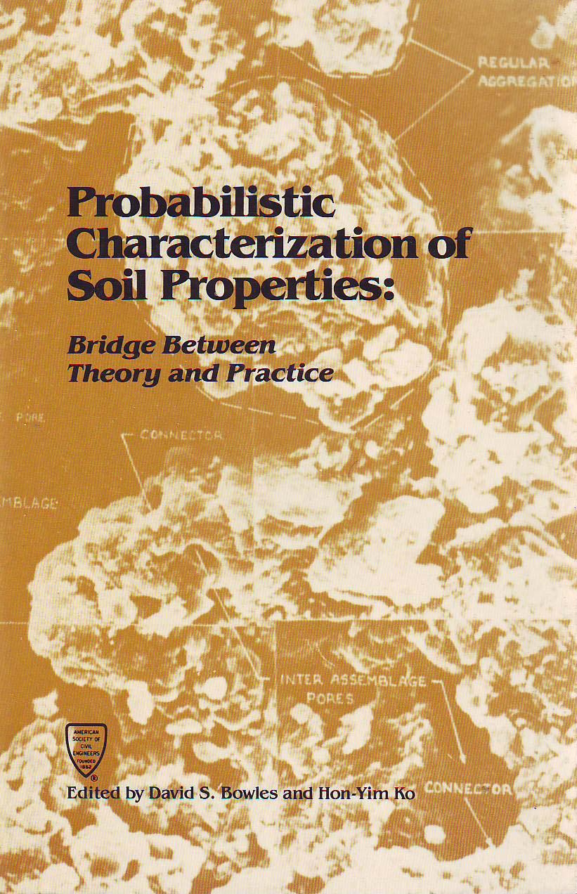 Probabilistic Characterization of Soil Properties