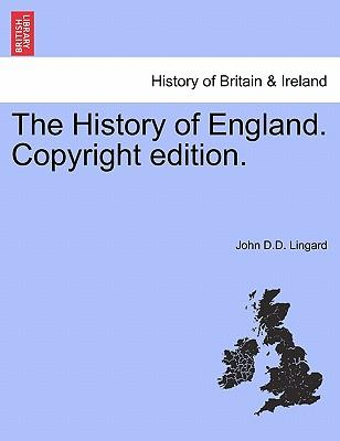 The History of England. Vol. IV, Copyright edition