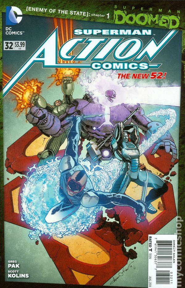 Action Comics Vol.2 #32