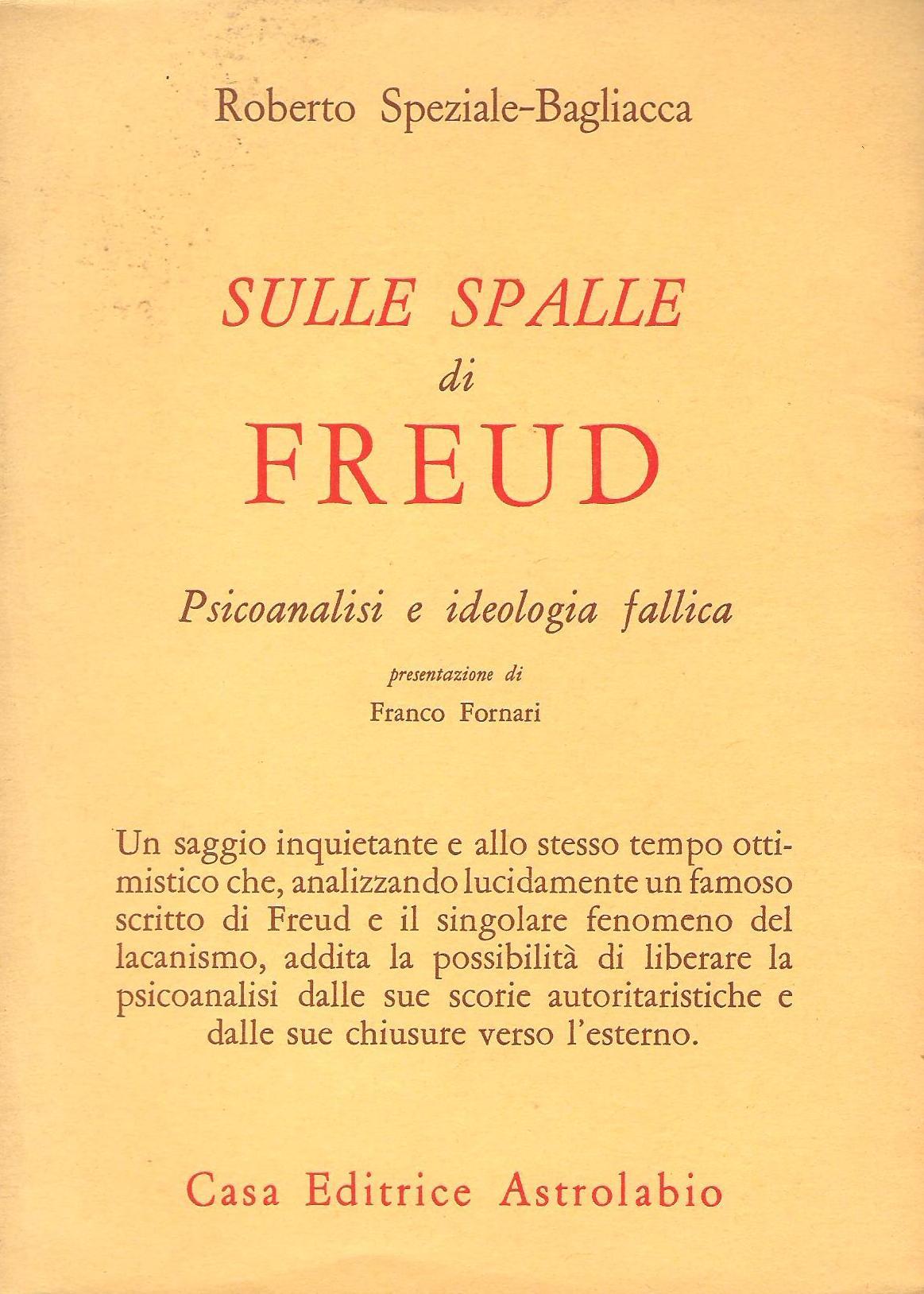 Sulle spalle di Freud