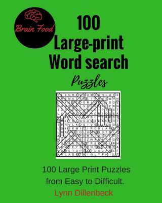 100 Large-print Word Search Puzzles