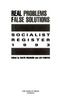 Socialist Register Real Problems Fa