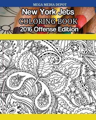 New York Jets 2016 Offense Coloring Book