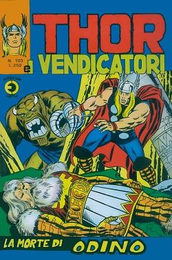 Thor e i Vendicatori (Il Mitico Thor) n. 103