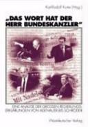 'Das Wort hat der Herr Bundeskanzler'