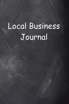 Local Business Journal Chalkboard Design
