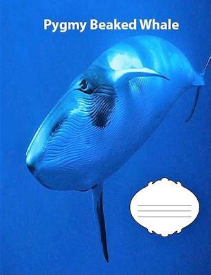 Pygmy Beaked Whale Wide Ruled Line Paper Composition Book