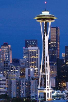 Seattle Skyline at Night Journal