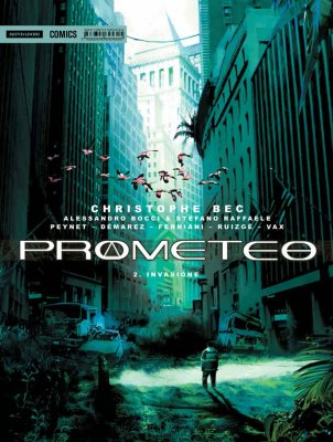 Prometeo vol. 2: Invasione