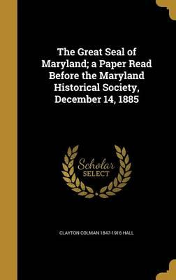GRT SEAL OF MARYLAND A PAPER R