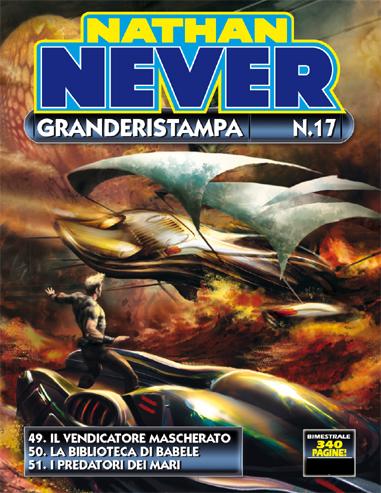 Nathan Never Granderistampa n.17