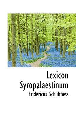 Lexicon Syropalaestinum
