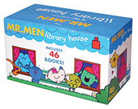 Mr Men Library House X46 Box Set