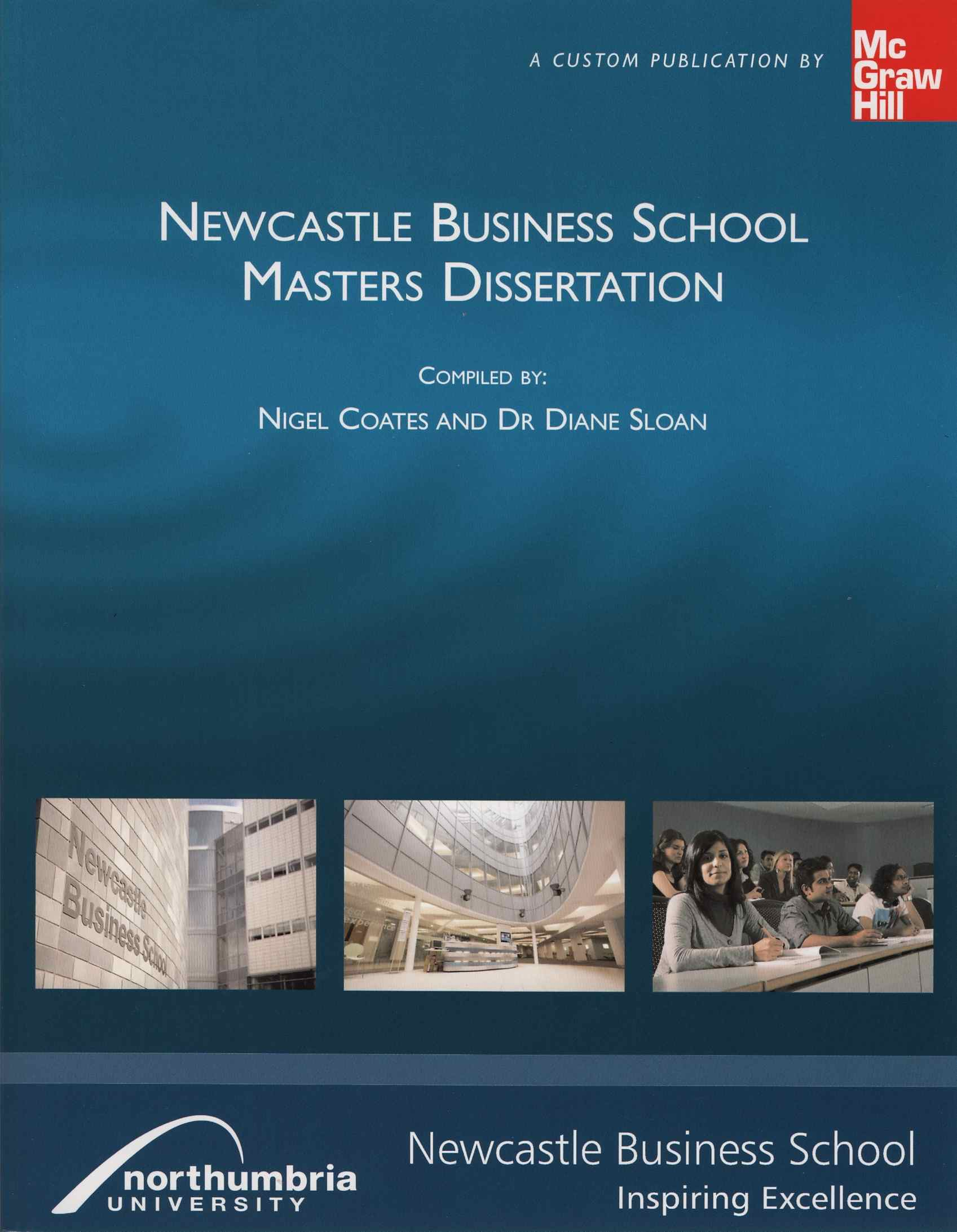 Newcastle Business School Masters Dissertation