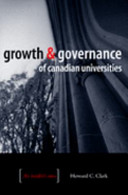 Growth and Governance of Canadian Universities