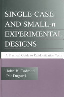 Single-Case and Small-N Experimental Designs