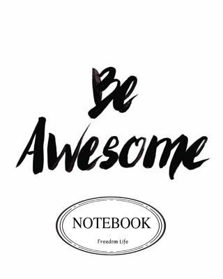 Be Awesome Pocket Notebook