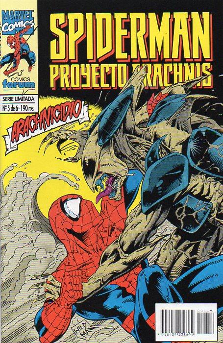 Spiderman: Proyecto Arachnis #5 (de 6)