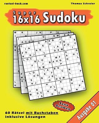 16x16 Buchstaben Super-sudoku 01