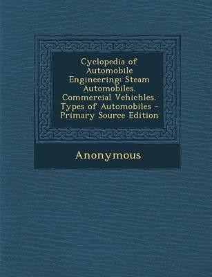 Cyclopedia of Automobile Engineering